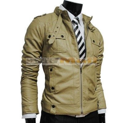 Mens Colored Leather Jackets