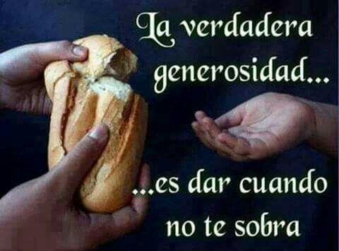 Generosidade, uma linda virtude!