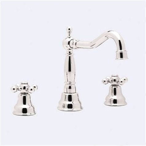 Rohl Bathroom Sink Faucet Ac107 Cisal Two Handle Widespread Faucet