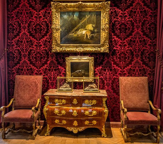 Musée de la Chasse et de la Nature : Salon Rouge