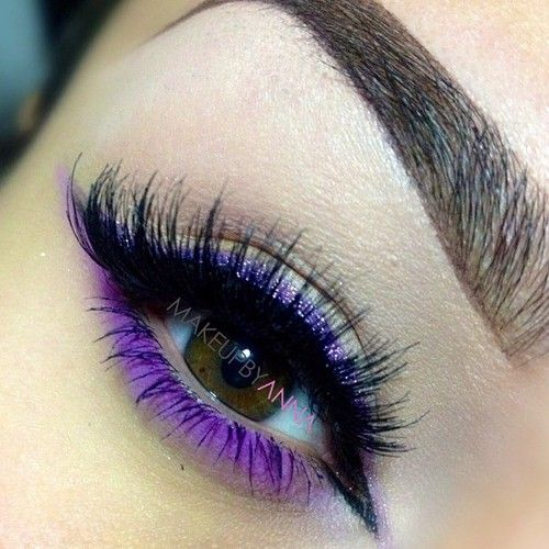 love the purple eye classy...