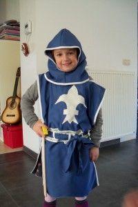Ridder kostuum kind zelf maken