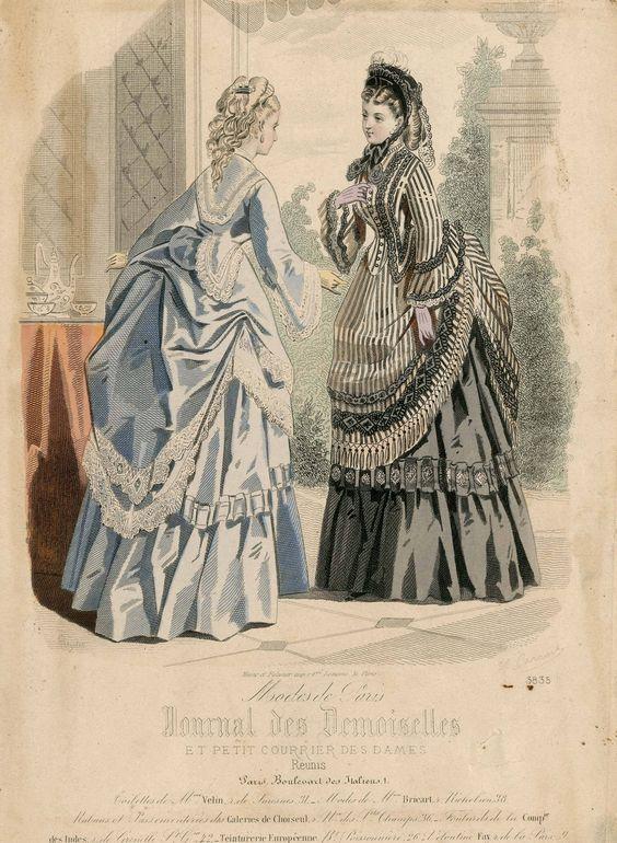 Journal des Demoiselles 1872: