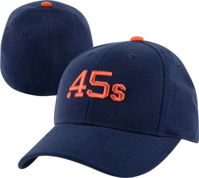 Houston Colt .45's Cooperstown 900 Fitted Hat