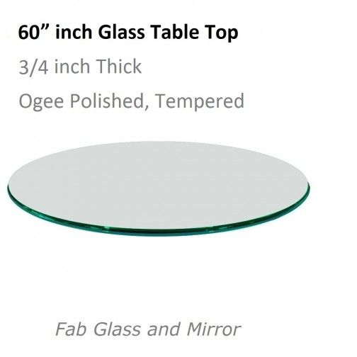 60 Inch Round Glass Table Top, Glass Table Top 60 Inch Round