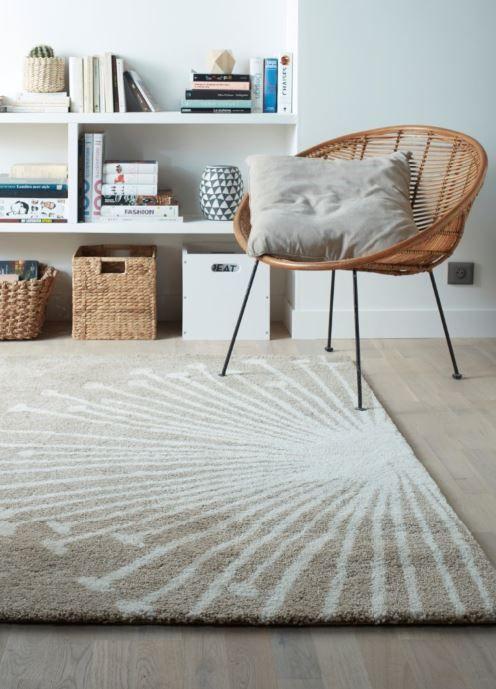 style scandinave avec ce joli tapis