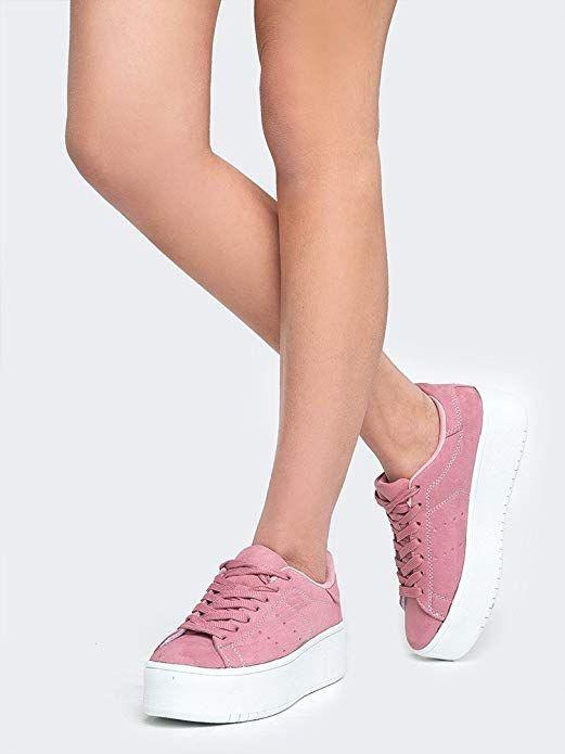 J. Adams Platform Lace up Sneaker