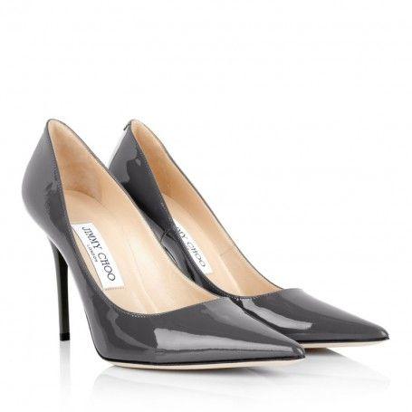 Jimmy Choo Pumps – Abel Stiletto Patent Leather Mist – in grau – Pumps für Damen
