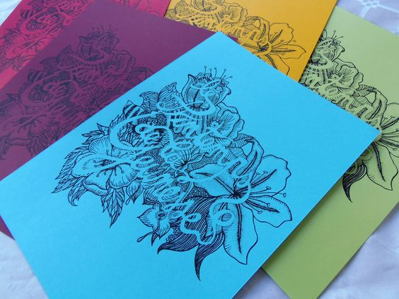 Printemps by SUPERFRUIT-illustration-screenprinting-sérigraphie-flowers-typography