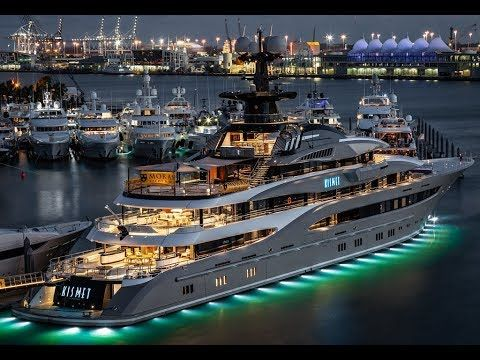 350 000 000 Award Winning Super Sports Megayacht Kismet 2019