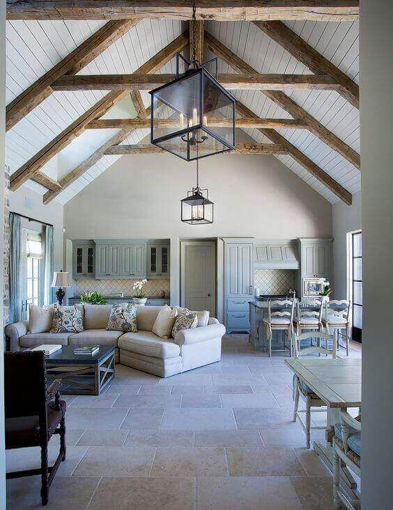 36 Great Exposed Beam Ceiling Lighting Ideas Vaulted Ceiling Living Room Wood Beam Ceiling Exposed Beams Ceiling
