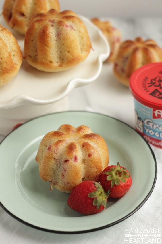 Strawberry Yogurt Muffin