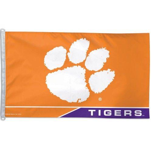 Clemson Tigers Flag 3' X 5'
