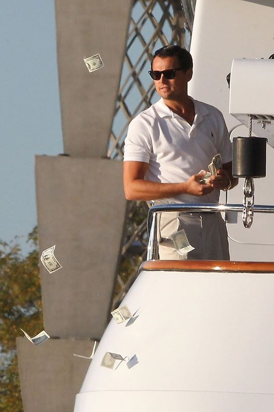 Leo DiCaprio didn't use body double for Wolf of Wall Street sex scenes