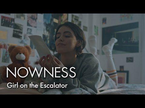 Girl on the Escalator - Based on a Bukowski's text. Phlegm.