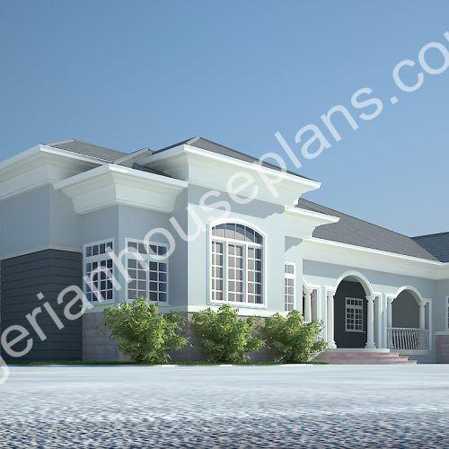 Nigeria House Plans Design Building Home Plan Modern Bungalow House Plans House Plans Mansion Bungalow House Design