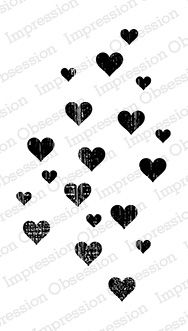 Grunge Heart Background: