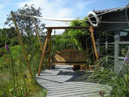 Bespoke Garden Furniture Maker of Oak Garden Swing Seats UK