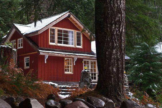 Winter Cabin <3