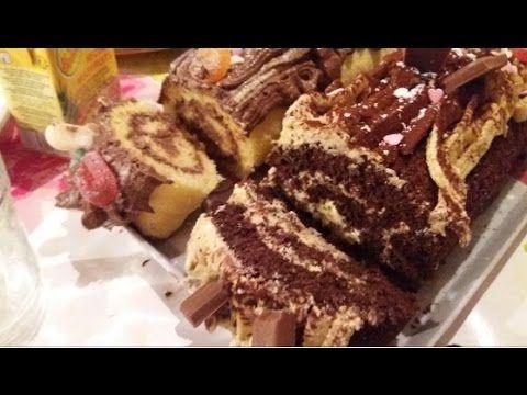 Gateau Roule Biscuit Roule Swiss Roll Cake رولي سهل بسكويت رولي سويسرول Youtube Swiss Roll Cake Desserts Roll Cake