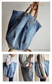 Resultado de imagem para diy  jeans bag,