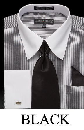 Two tones ties and shirts on pinterest for Daniel ellissa men s dress shirts