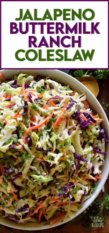 Jalapeno Buttermilk Ranch Coleslaw Lord Byron S Kitchen In 2020 Easy Cooking Recipes Coleslaw Recipe Slaw Recipes