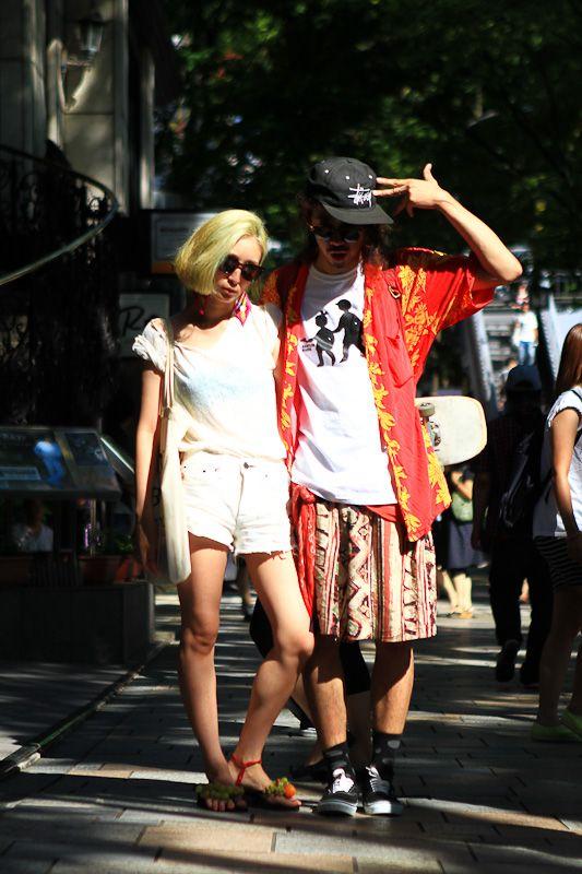 Street Style - 原宿 - 今村 怜央/CHiNPANさん - FASHIONSNAP.COM ...