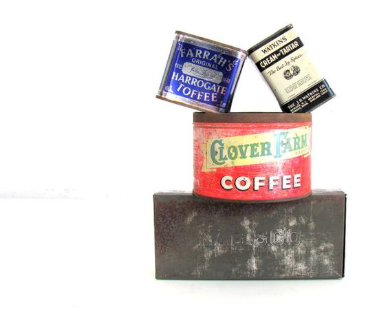Vintage Tins Assorted Instant Collection Kitchen by NifticVintage, $32.00