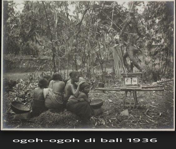 SENI BUDAYA DAN AGAMA : Sejarah Ogoh-Ogoh Di Pulau Bali