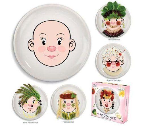 Assiette visage à décorer Fille - Miss Food de Fred & Friends, http://www.amazon.fr/dp/B007C4JLB6/ref=cm_sw_r_pi_dp_efu.qb1GP6KJT