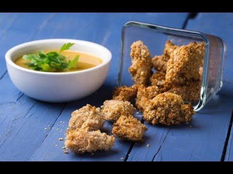 Raneens Table Healthy Baked Popcorn Chicken بوب كورن الدجاج الصحي Youtube Food Chicken Rice