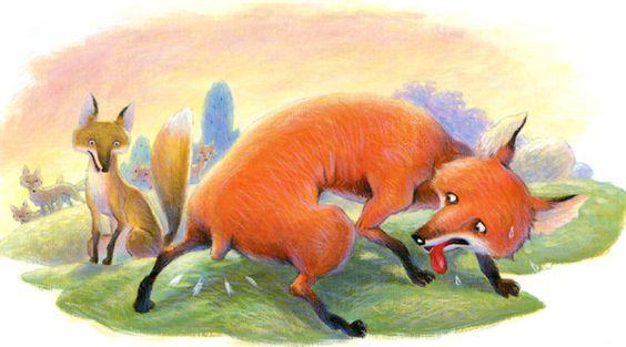 ΑΙΣΩΠΟΥ ΜΥΘΟΙ - Η αλεπού με την κομμένη ουρά <br>Aesop's Fable - The Fox who Lost his Tail | To χαμομηλάκι