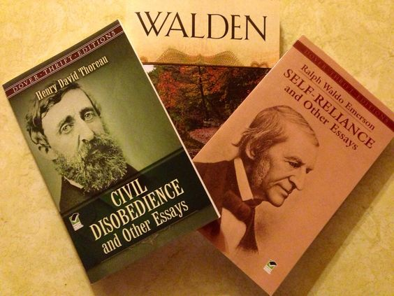 The voice of the individual in the chorus of society. Thoreau and Emerson are two of my favorite authors. I used these pieces to create a 4 week unit plan. Into the woods I go...