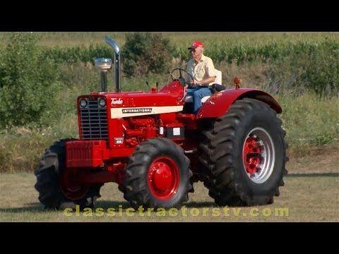 Rare 1969 Ih Front Wheel Assist Wheatland 1256 Classic Tractors Tv Youtube Tractors Classic Tractor Vintage Tractors