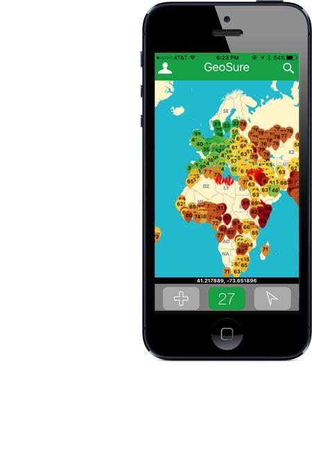 Globe app screenshot