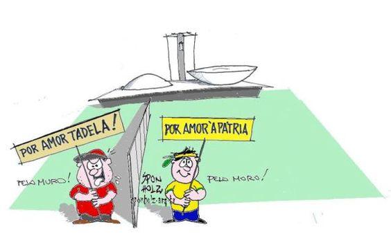 Muro em Brasilia