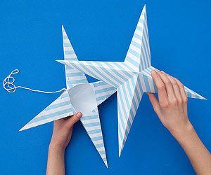 Estrellas de papel, paso 6