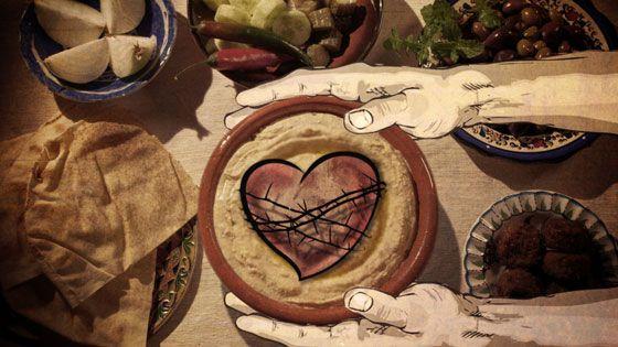 hummus heart