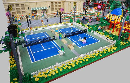 Tennis Courts 1 Lego Design Big Lego Lego Pictures
