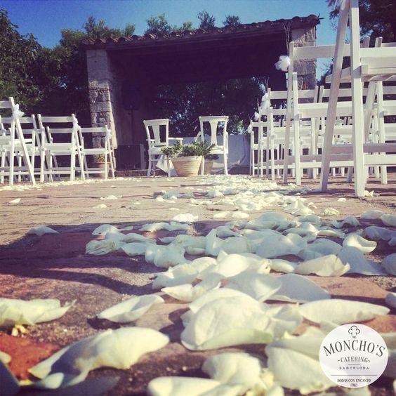 Ceremonia Civil. Bodas by Moncho's. http://www.monchos.com/es/catering