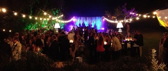 """Private Party with 150 of your closest friends!!    I love it when we get a project where they say to have some fun with the lighting, """"We w..."""