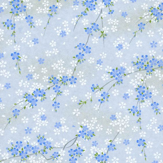 Pretty and Colorful Light Blue Hydrangea Flowers Wrapping ...  Pretty Blue Paper