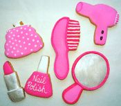 hair stylist cookies