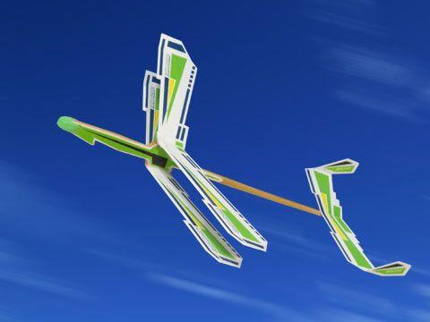 紙飛行機デザイン工房