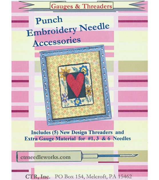CTR Needleworks Punch Embroidery Needle Gauges