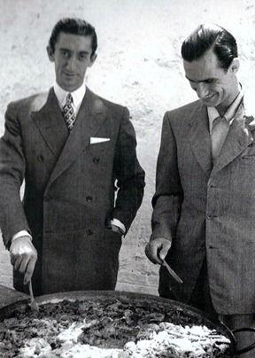 Manolete y Arruza