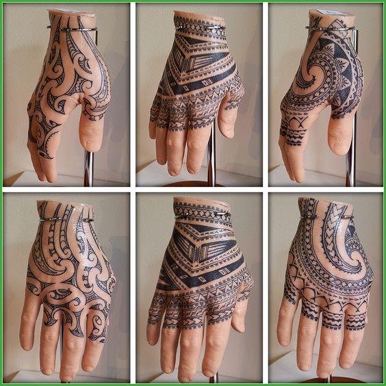 best hand tribal tattoos for men