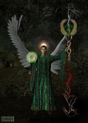 Archangel Raziel | Card 1; Archangel Raziel – Take back your power: