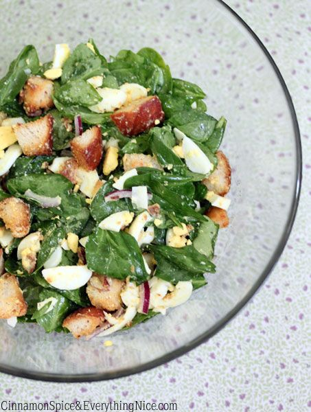 ... italian bread mustard dressing spinach salads honey mustard dressing